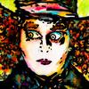 """MAD HATTER"" (JOHNNY DEPP) ~ SOLD"