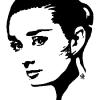 """AUDREY HEPBURN - ALLURE"" ~ SOLD"