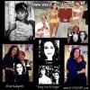 "GILLIGAN'S ISLAND ""MARY ANN"" (DAWN WELLS)  WITH HER ""DAWN"" AND ""MARY ANN AND GINGER"" PAINTINGS"