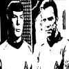 "STAR TREK ~ MR. SPOCK AND CAPTAIN KIRK"" ~ SOLD"