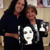 """DAWN WELLS / MARY ANN"" (GILLIGAN'S ISLAND) ~ WITH HER PAINTINGS"